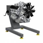 Стенд для ремонта двигателей Р1250