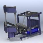 Мобильный гидравлический выпрессовщик шкворней МГВ-95