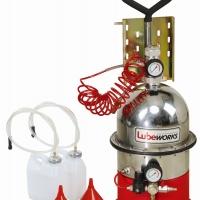Установка для замены и прокачивания тормозной жидкости и системы сцепления с набором адаптеров LUBEWORKS 1788001