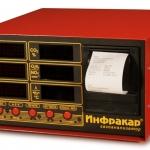 Автомобильный 2-х компонентный газоанализатор «Инфракар 12Т.02